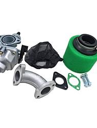Недорогие -cg125 карбюратор карбюратор 38 мм воздушный фильтр крышка впускной коллектор набор для 110cc 125cc грязи ямы байк atv