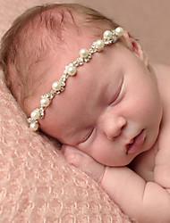 Недорогие -Дети (1-4 лет) Девочки Милая Повседневные Мозаика Цветочный стиль Полиэстер Аксессуары для волос Бежевый Один размер / Резинки для волос