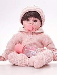 baratos -FeelWind Bonecas Reborn Bebês Meninas 20 polegada realista de Criança Para Meninas Dom