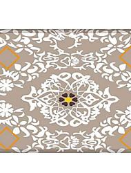 baratos -Os tapetes da área Clássico / Casual Poliéster, Rectângular Qualidade superior Tapete / Não Skid