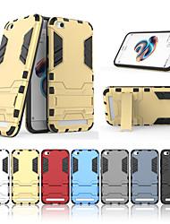 abordables -Funda Para Xiaomi Redmi 5A con Soporte Funda Trasera Un Color Dura ordenador personal para Redmi 5A