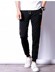 abordables -Hombre Tallas Grandes Pantalones de Deporte Pantalones - Un Color / Deportes