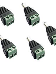 Недорогие -5 шт. Газонокосилка / с разъемом постоянного тока пластик Электрический разъем для светодиодной полосы света