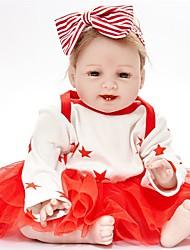 お買い得  -FeelWind リボーンドール 赤ちゃん(女) 22 インチ 生き生きとした 子供 女の子 ギフト