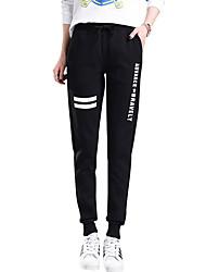cheap -Women's Sweatpants Pants - Solid Colored Patchwork