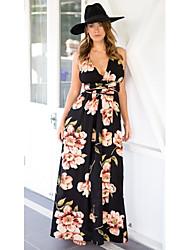 abordables -Mujer Boho Recto / Corte Swing Vestido Maxi