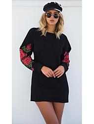 povoljno -ženski odlazak pamučnih mršavih haljina iznad koljena