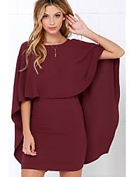 cheap -Women's Slim Sheath Dress High Waist / Spring / Summer