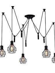 baratos -5-luz Lustres Luz Descendente - Estilo Mini, 110-120V / 220-240V, Branco Quente, Lâmpada Não Incluída / 10-15㎡ / E26 / E27