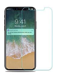Недорогие -AppleScreen ProtectoriPhone X HD Защитная пленка для экрана 5 ед. Закаленное стекло
