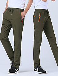 cheap -Men's Hiking Pants Outdoor Fast Dry, Anatomic Design Spandex Pants / Trousers Hunting / Stretchy
