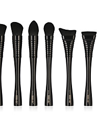cheap -7 pcs Makeup Brushes Professional Blush Brush / Lip Brush / Eyeliner Brush Nylon fiber New Design / Professional / Full Coverage Plastic