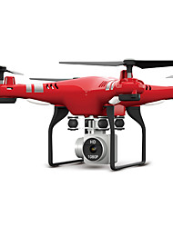 billiga -RC Drönare X52HD RTF 4 Kanaler 6 Axel 2.4G Med HD-kamera 3.0MP 1080P Radiostyrd quadcopter FPV / Retur Med Enkel Knapptryckning / Huvudlös-läge Radiostyrd Quadcopter / Fjärrkontroll / Kamera