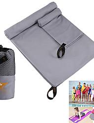 お買い得  -Yoga タオル / 旅行用タオル キット 極細繊維 80*40+130*80 cm cm ライトグレー / グリーン / ネービーブルー