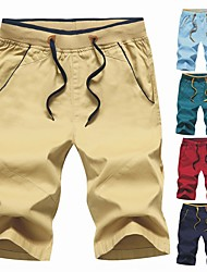 cheap -Men's Hiking Shorts Outdoor Anatomic Design, Breathability, Stretchy Pants / Trousers Outdoor Exercise
