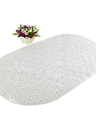 cheap -1pc Classic / Modern Bath Mats PVC(PolyVinyl Chloride) Geometric Oval New Design / Non-Slip