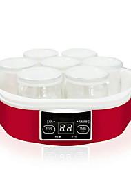 Недорогие -Создатель йогурта Новый дизайн / Функция синхронизации / Полностью автоматический Стекло / ABS Машина для йогурта 220 V 15 W Кухонная