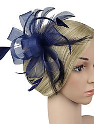 abordables -Femme Mode / Elégant Pince à Cheveux / Fascinator - Couleur Pleine Noeud / Maille