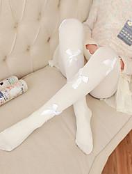 Недорогие -1 пара Жен. Носки Тонкая прозрачная ткань Способствует хорошему настроению Милый стиль Спандекс EU36-EU42