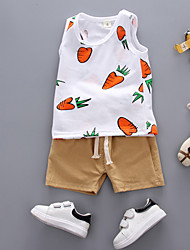 cheap -Baby Boys' Geometric Sleeveless Clothing Set