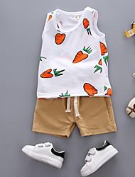 cheap -Baby Boys' Geometric Sleeveless Clothing Set