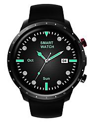 Недорогие -Смарт Часы Z18 для Android Bluetooth GPS Водонепроницаемый Пульсомер Сенсорный экран Хендс-фри звонки Педометр будильник Температурный дисплей / GSM (900/1800/1900MHz) / WCDMA (850/2100MHz) / 512MB