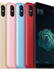 "abordables -Xiaomi Mi 6X(English only) 5,99 pulgada "" Smartphone 4G (4GB + 64GB 12 mp / 20 mp Qualcomm Snapdragon 660 3010 mAh) / Doble cámara"