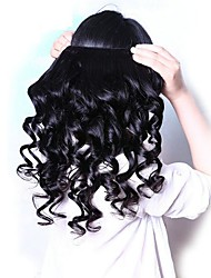 cheap -4 Bundles Malaysian Hair Loose Wave Human Hair Gifts / Cosplay Suits / Natural Color Hair Weaves 8-28 inch Human Hair Weaves Life / Hot Sale / For Black Women Natural Color Human Hair Extensions