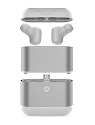 abordables -Factory OEM X2 EARBUD Bluetooth 4.2 Ecouteurs Ecouteur ABS + PC Téléphone portable Écouteur Avec Microphone / Avec boîte de recharge Casque