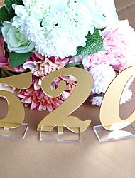 baratos -Plástico N / A Decoração cerimônia - Casamento Casamento