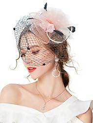 economico -Per donna Floreale / Retato, Vintage / Elegante Molletta / Fascinator Tinta unita