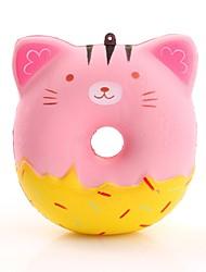Недорогие -Резиновые игрушки / Устройства для снятия стресса пончики Стресс и тревога помощи / Декомпрессионные игрушки Поли уретан 1 pcs Детские Все Подарок
