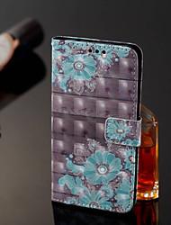 abordables -Funda Para Xiaomi Redmi Note 5 Pro / Xiaomi Mi Mix 2S Cartera / Soporte de Coche / con Soporte Funda de Cuerpo Entero Flor Dura Cuero de PU para Xiaomi Redmi Note 5 Pro / Xiaomi Mi Mix 2S