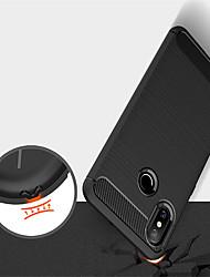 baratos -Capinha Para Xiaomi Mi 8 / Mi 8 SE Com Relevo Capa traseira Sólido Macia TPU para Xiaomi Mi Mix 2 / Xiaomi Mi Mix 2S / Xiaomi Mi 8