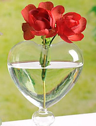 cheap -Birthday / Hearts Glass Table Center Pieces - Non-personalized Home Decroration / Ornaments Sweetheart 1 pcs All Seasons