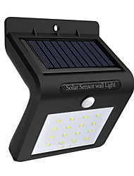 cheap -1pc 0.5 W Led Street Light / Solar Wall Light Solar / Infrared Sensor / Waterproof White 3.7 V Outdoor Lighting / Courtyard / Garden