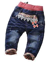 cheap -Baby Boys' Active Print Linen Jeans / Toddler