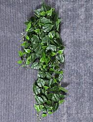 Недорогие -Искусственные Цветы 1 Филиал Классический / Односпальный комплект (Ш 150 x Д 200 см) Деревня / Модерн Pастений / Вечные цветы Цветы на стену