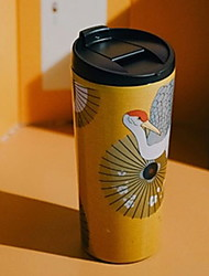 abordables -Vasos PP+ABS / inoxidable Hierro ventosa Portátil / Caricaturas / retener el calor 1 pcs
