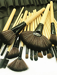 cheap -24pcs Makeup Brushes Professional Makeup Brush Set Artificial Fibre Brush / Nylon Brush Eco-friendly / Professional / Soft Wooden / Bamboo
