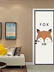 abordables -Calcomanías Decorativas de Pared / Pegatinas de puerta - Pegatinas de pared de animales / Holiday pegatinas de pared Animales / Navidad