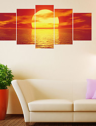 cheap -Decorative Wall Stickers - Plane Wall Stickers Landscape Living Room / Bedroom / Bathroom