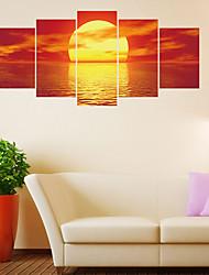 economico -Adesivi decorativi da parete - Adesivi aereo da parete Paesaggi Salotto / Camera da letto / Bagno