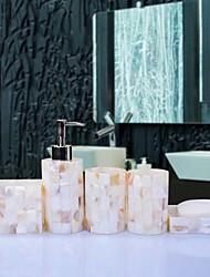 Недорогие -Набор аксессуаров для ванной Новый дизайн Современный Резина 6шт - Ванная комната Односпальный комплект (Ш 150 x Д 200 см)