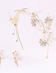 preiswerte -Aleación Stirnbänder mit Blume Ein Paar × 2 Hochzeit / Geburtstag Kopfschmuck
