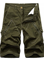 cheap -Men's Basic Shorts Pants - Solid Colored