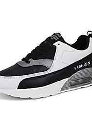 povoljno -Muškarci Cipele PU Zima Udobne cipele Atletičarke tenisice Hodanje Pink And White / Crno-bijeli / Bijela / plava