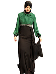 cheap -BENEVOGA Women's Street chic / Sophisticated Abaya - Creative / Color Block, Patchwork
