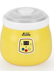 baratos -Yogurt Maker Novo Design Cerâmica / PP / ABS + PC Máquina de iogurte 220-240 V 20 W Utensílio de cozinha