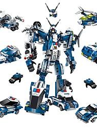 baratos -Blocos de Construir 577 pcs Carro / Robô / Avião Transformável Dom